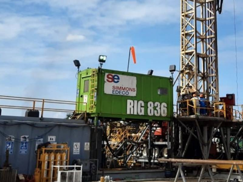 ONSHORE DRILLING CAMPAIGN IN MEXICO COMPLETED BY SIMMONS EDECO