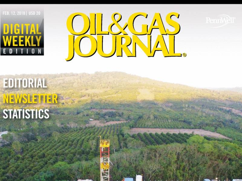 SIMMONS EDECO on cover of Oil & Gas Journal