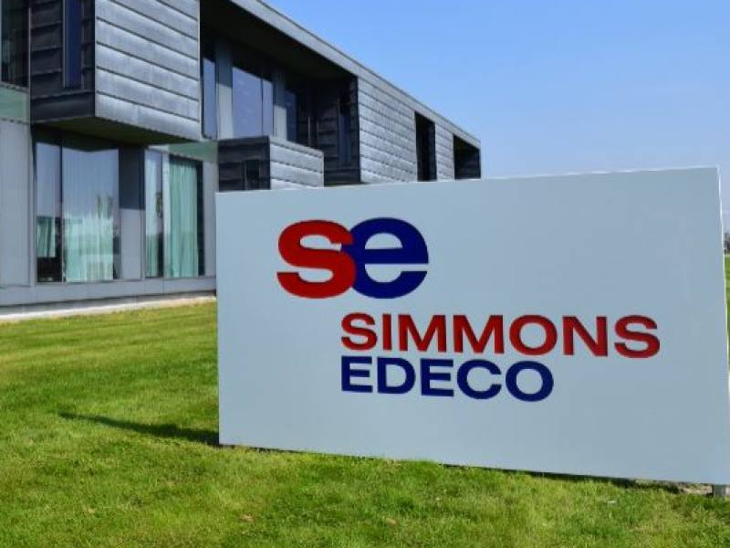 SIMMONS EDECO OPENS  FIRST OPERATIONS BASE IN DENMARK