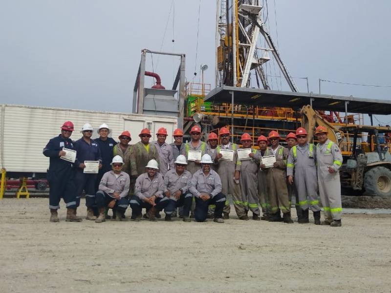 Drilling Campaign for Newpek Completed by  SIMMONS EDECO in Mexico